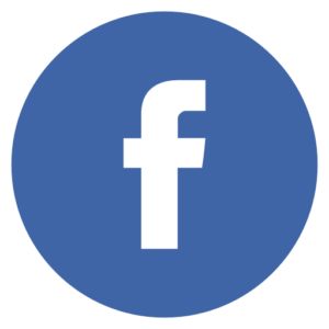 Facebook bleu